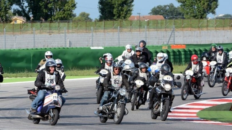 Il Motogiro d'Italia è partito da San Marino