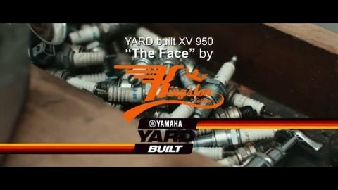 Yard Built XV950: the Face by Kingston Customs