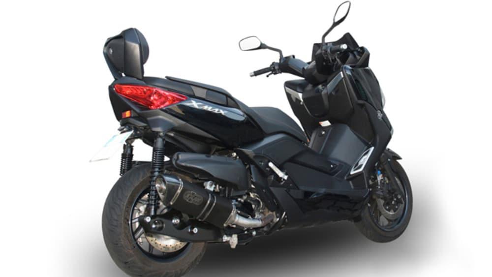 Scarico EXAN X-Black per Yamaha X-MAX 400 - Motoblog
