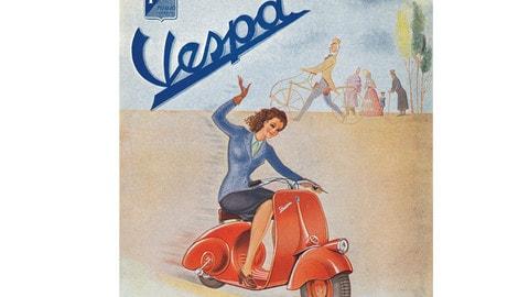Vespa compie 70 anni