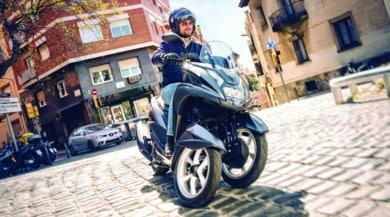 "Yamaha Tricity, arriva la versione ""grande"""