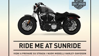 Harley-Davidson fa tappa al SunRide