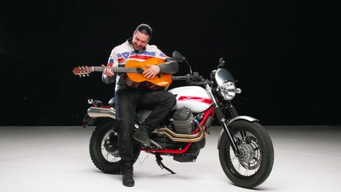 Motosprint The Test Di Riccardo Piergentili Moto Guzzi