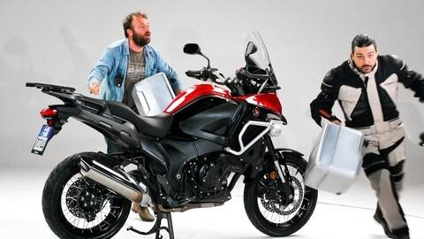 Motosprint – The Test di Riccardo Piergentili: Honda VFR1200X Crosstourer DCT Travel Edition