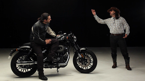 Motosprint - The Test di Riccardo Piergentili: Harley-Davidson Roadster