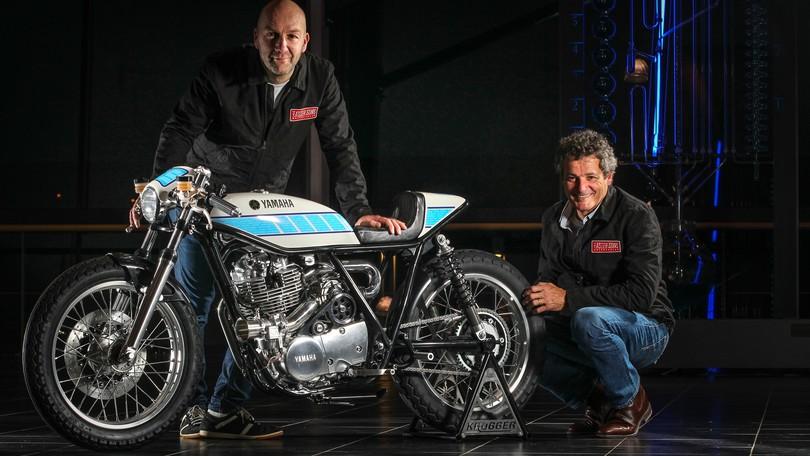 Yamaha Yard Built SR400: Krugger Motorcycles e le leggende della MotoGP