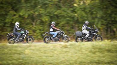 Sfida Yamaha MT-07 - Tracer 700 - XSR 700: affari di famiglia