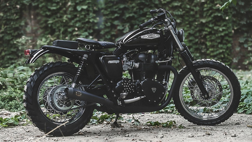 Anvil: Fox Trot Novecento su base Triumph Bonneville
