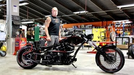 Orange County Choppers a Motor Bike Expo