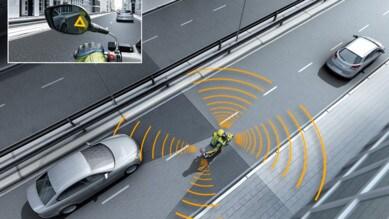 Bosch: sulle 2 ruote la sicurezza è intelligente