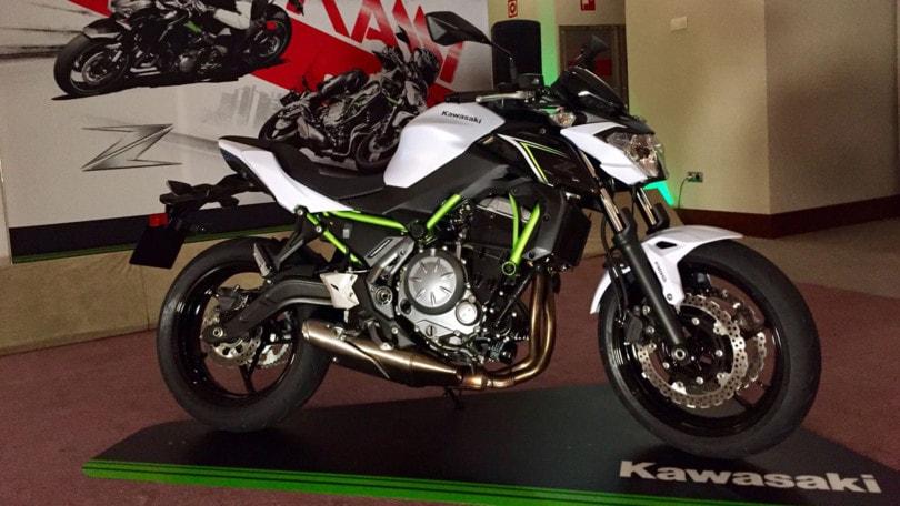 Kawasaki Z650: l'antipasto del test!
