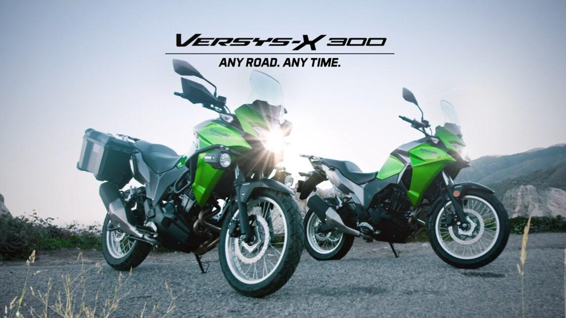 Kawasaki Versys-X 300: minima spesa, massima resa