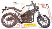 Yamaha XSR300 Cafè Racer