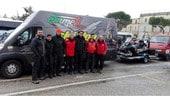 Federmoto, il soccorso in Centro Italia con le motoslitte