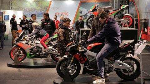 Motor Bike Expo: Moto Guzzi e Aprilia