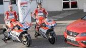 Seat sulla Ducati MotoGP