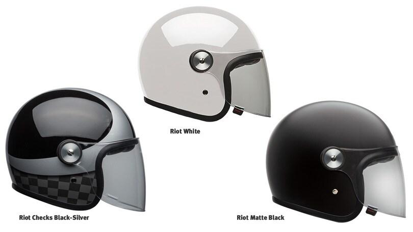Bell: il casco jet Riot con visiera regolabile