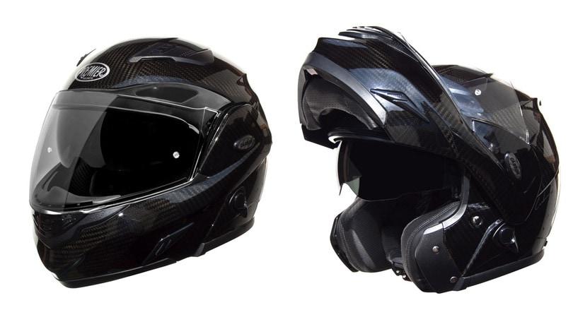 Premier Carbon Tour, il casco apribile in carbonio