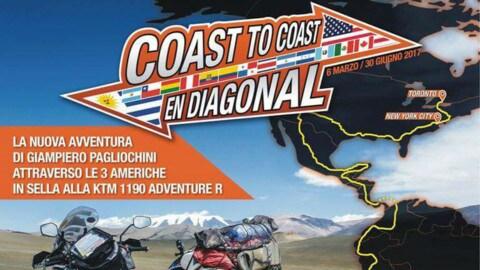 Coast to coast en diagonal: partenza in salita nelle prime tappe