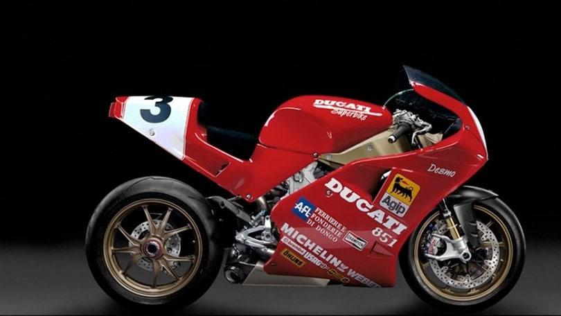 Ducati 851 Superleggera: il rendering fa sognare