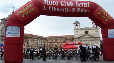 Ducati sponsor tecnico del Motogiro 2017