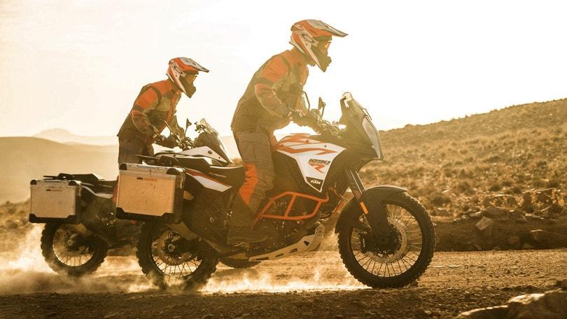 KTM e l'avventura Hard C.O.R.E.