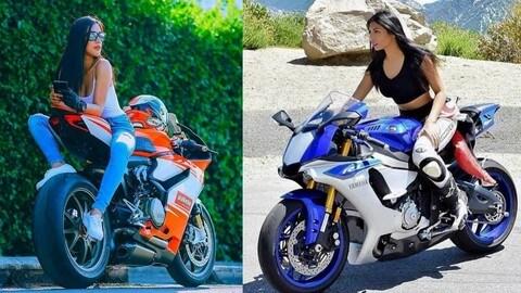 Donne in moto, quando le supersportive diventano sexy