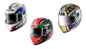 Shark Helmets fornisce tre monomarca Yamaha