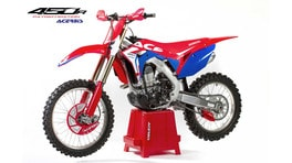 La Honda CRF450R Patriot veste all'americana