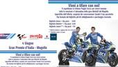 Mugello, la tribuna Poggio Secco si tinge di blu Suzuki