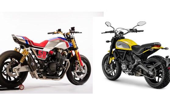 Workshop2Wheels: a Roma il contest sulle special con Honda e Ducati