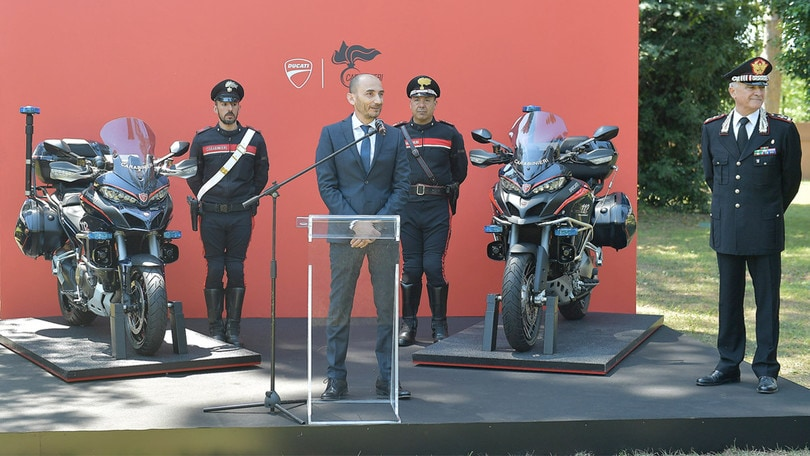 Ducati Multistrada per i Carabinieri