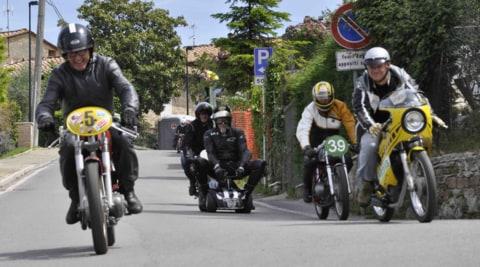 """I """"motorini da corsa"""" a Casciano di Murlo: foto"""