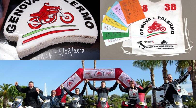 La Genova-Palermo in moto anche l'anno prossimo