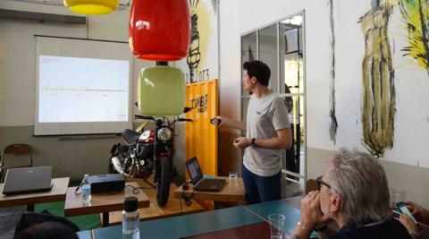 Workshop2Wheels a Roma: foto