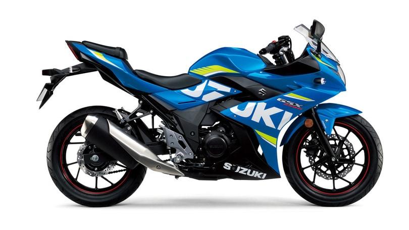 Suzuki: arriva la GSX250R