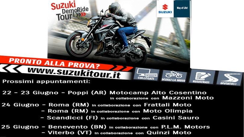 Il lungo weekend del Suzuki DemoRide