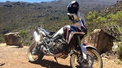 Coast to Coast Crossover e quelle gomme dell'Africa Twin…