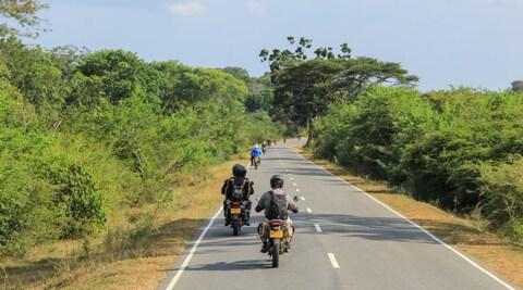 Viaggi in moto, a gennaio nello Sri Lanka: foto