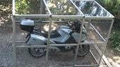 Da Xebel il box fai-da-te per la moto