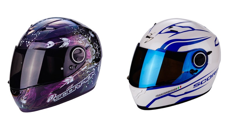 Scorpion: casco Exo 490