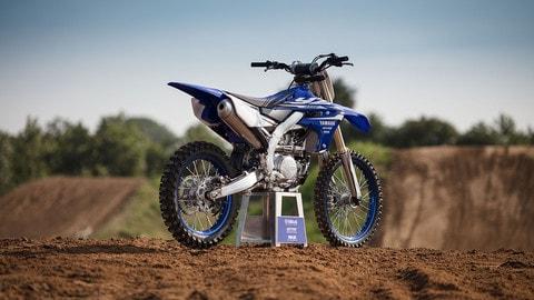 Yamaha YZ 450F: derivata dalle moto ufficiali