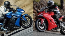 Ducati SuperSport Vs Suzuki GSX-S 1000 F: quattro contro due!