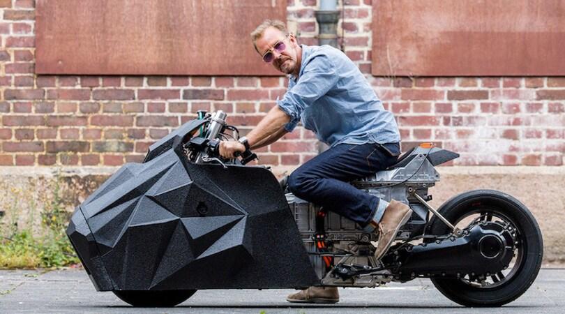 E-LisaBad, una moto per Darth Vader