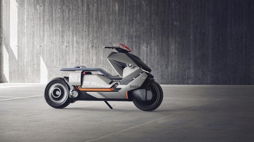 Concept Link, lo scooter a emissioni zero secondo BMW