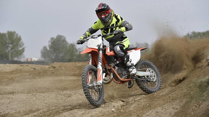 Gamma KTM SX 2018: primo contatto