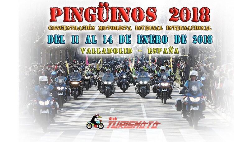 Motoraduno: i Pingüinos a Valladolid