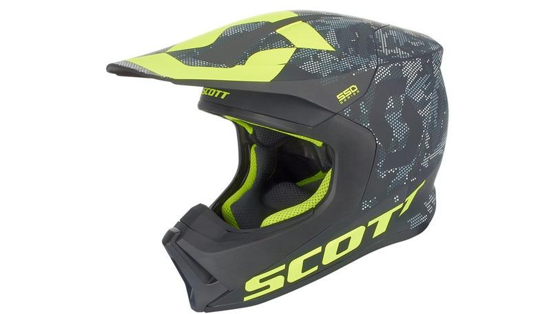 Scott MX550: il casco ventilato