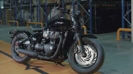 Triumph Speedmaster e Bobber Black anche in video