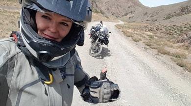 Kinga, biker fenomenale alla scoperta dell'Asia